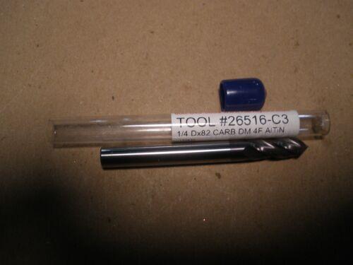 "Harvey Tool Carbide Chemfor End Mill ¼"" x 82⁰ x 2 ½"""
