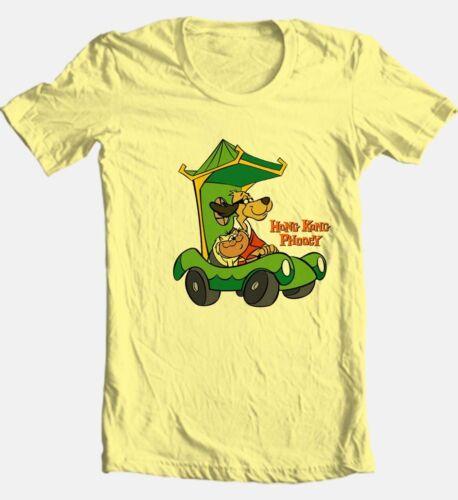 Hong Kong Phooey T-shirt retro 80/'s Saturday morning cartoon cotton graphic tee