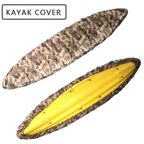 Waterproof Kayak Cover Universal Canoe Boat UV Resistant Dust-proof Protector
