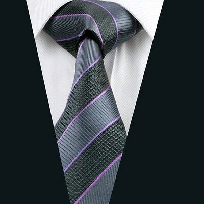 A-591 New Classic Men's Tie 100% Jacquard Woven Silk Ties Necktie Free Shipping