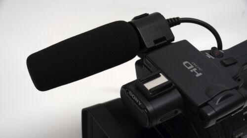 Pro HM200 HD VM 4K camcorder directional shotgun mic f JVC HM170UA HM150U HM100U