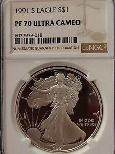 2003 S Arkansas Silver NGC PF 70 UCAM