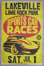 1960's Porsche 356 B Coupe Race Vintage Advertising Poster 11 x 17 Connecticut