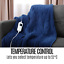thumbnail 5 - Electric Heated Throw Blanket Indoor Outdoor Winter Plush Washable Rug 200x180cm
