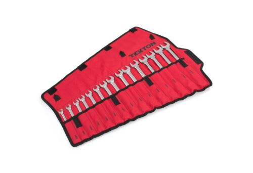 Metric 22 m... TEKTON Combination Wrench Set with Roll-up Storage Pouch 8 mm