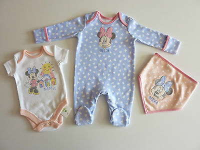 DISNEY Really Cute MINNIE MOUSE 3 Piece Set NWT
