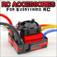 ESC 120A  RC Cars Sensorless brushless Lipo Ezrun Xerun 7.4 11.1,14.4v