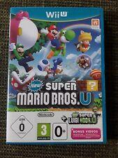 New Super Mario Bros U New Super Luigi U Nintendo Wii U 2016