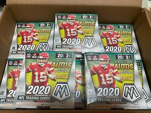 2020-PANINI-NFL-MOSAIC-FOOTBALL-SEALED-BRAND-NEW-MEGA-BOX-LOT-X9-40-CARDS-BOX