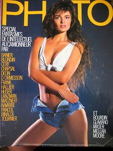 magazine-PHOTO-N-238-SPECIAL-FANTASMES-PIN-UP-MEILLAN-GLAVIANO-JAMES-MOORE-1987