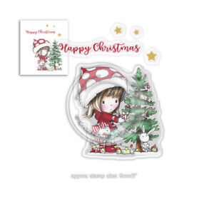 Motiv-stempel-Clear-stamp-Polkadoodles-Christmas-Tree-Weihnachts-baum-PD7961