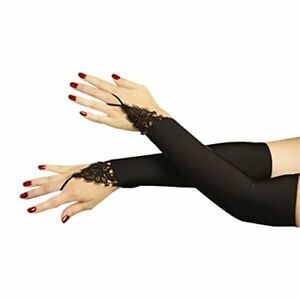 Dreamgirl-Midnight-Madness-Black-Lace-Womens-Halloween-Costume-Gloves-10341