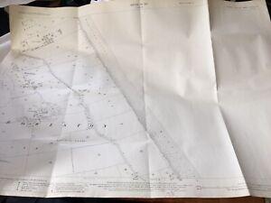 1927-Map-ROWLSTON-MAPPLETON-COAST-VILLAGE-SANDS-Vintage-Mancave-Office-Display