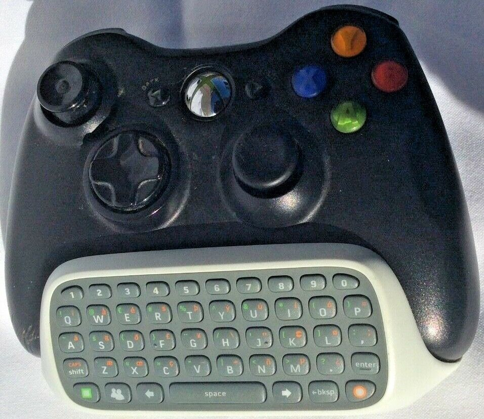 Xbox 360 CHATPAD (Clip-On bit only) No Controller