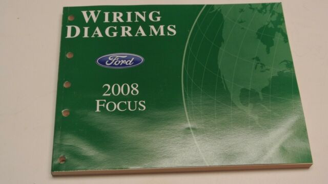2008 Ford Focus Electrical Wiring Diagrams Service Repair