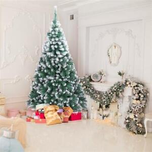 NEW Christmas Tree Artificial Pine Xmas Tree Holiday Party Decorate USA STOCK AW | eBay