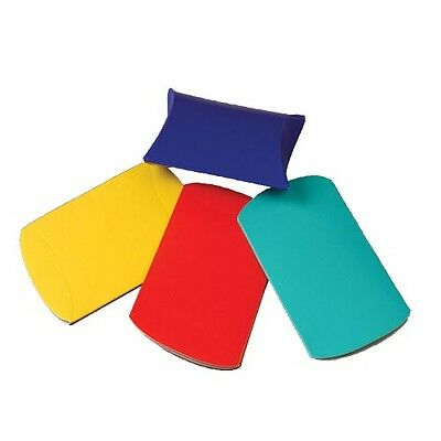 12 FUN COLORFUL MINI PILLOW GIFT BOXES PARTY FAVORS SHOWERS GIFTCARD HOLDER