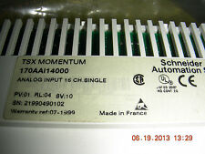 Tsx Momentum Input Module   170aaI14000    16 channel single ended