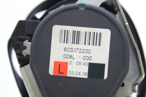 MERCEDES w251 w164 ML R-classe a2518600985 cintura di sicurezza cintura anteriore sinistra 9c94