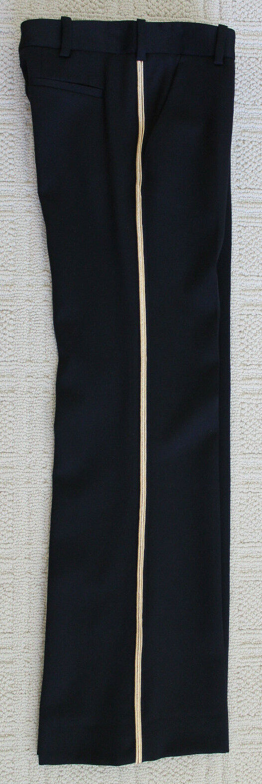 Neu Balmain Paris Schwarze Wolle Smoking Smoking Smoking Hose mit Gold Trimm Größe 38 Gr.6   Meistverkaufte weltweit    Grüne, neue Technologie    Fuxin  5cfe9c