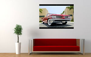 1959-RED-PONTIAC-CABRIO-NEW-LARGE-ART-PRINT-POSTER-PICTURE-WALL-33-1-034-x23-4-034