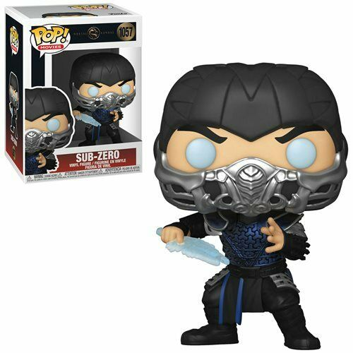 Funko Pop! Movies - Sub-Zero - Mortal Kombat -1057 IN STOCK
