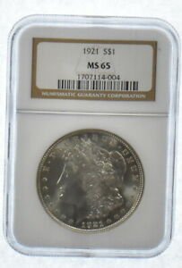 MS65-1921-Morgan-Silver-Dollar-Graded-NGC-Last-Year-Morgan-MS-65