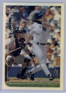 1999-Topps-Chrome-Tino-Martinez-Refractor-290-NY-Yankees-Rare