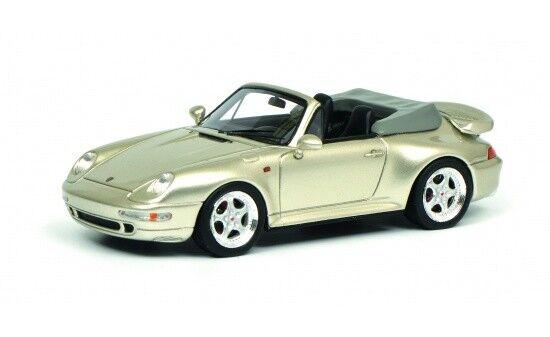 450887900 - Schuco Porsche 911 Cabrio - grau (08879) - 1 43