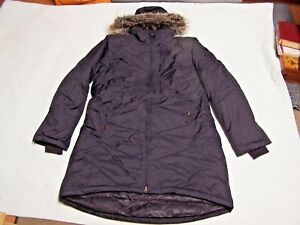 Winter Hooded Coat Størrelse Black Xl Vans Zip Full Womens Goose Down 0nAwqRFZxg