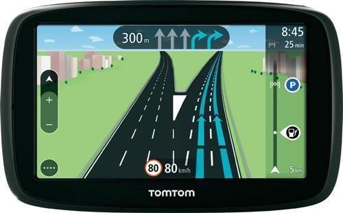 "TomTom Start 50 traffic CE 5/"" Lifetime Maps tap /& Go búsqueda rápida carril de nuevo."