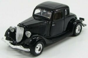 MOTOR-MAX 1/24 FORD USA | COUPE HARD-TOP 1934 | BLACK