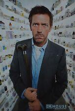 DR. HOUSE - A3 Poster (ca. 42 x 28 cm) - Hugh Laurie Clippings Fan Sammlung NEU