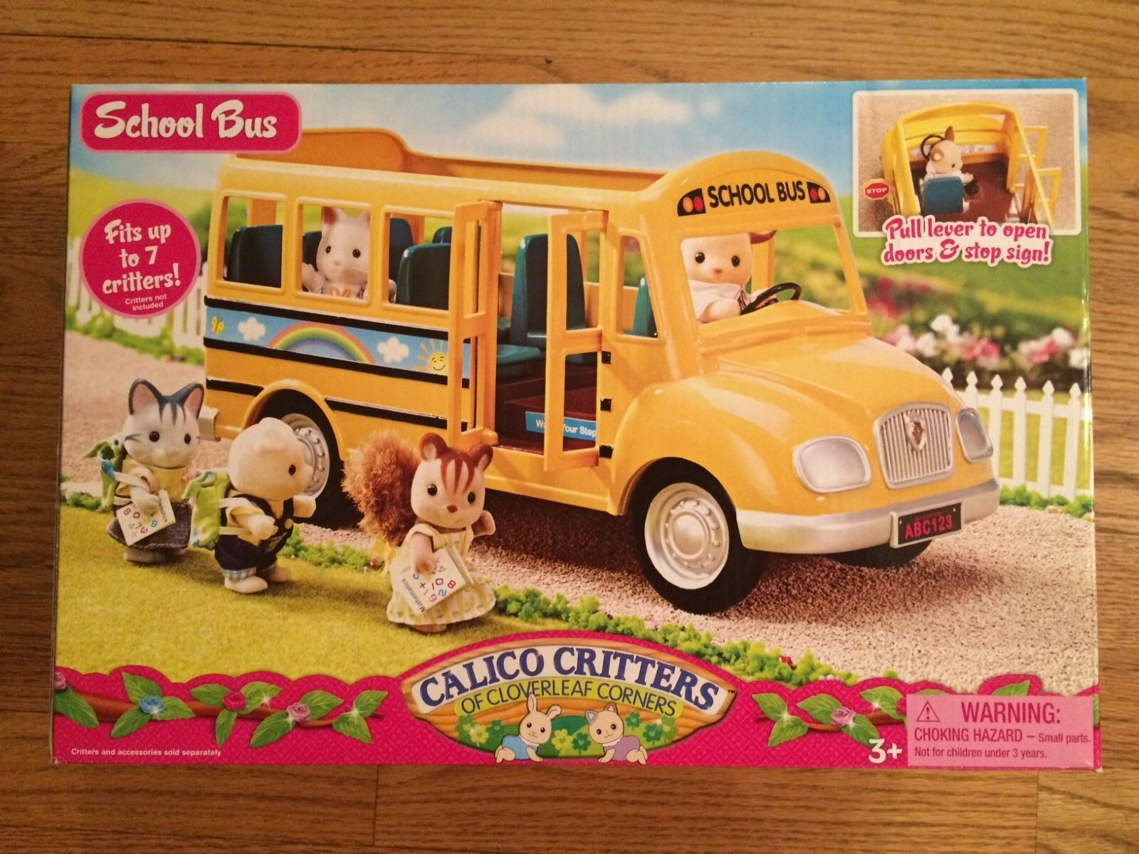 Bunte viecher cc1466 schulbus new in box