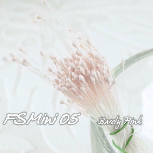 1-2 mm Matt double têtes Eco Friendly fleur artificielle étamine 144 pcs Sugarcraft