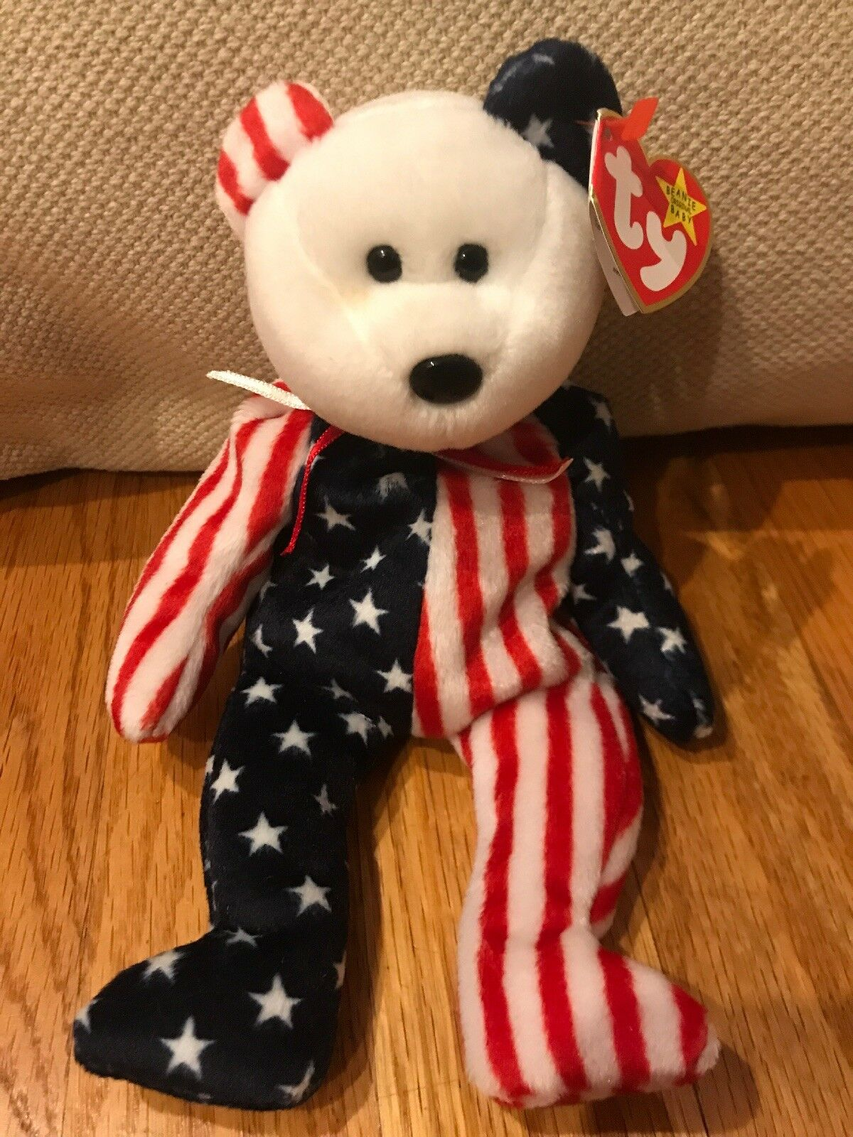 "Ty Beanie Babies ""Spangle"" 1999, Swing Tag Error"
