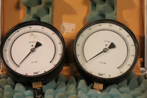 LOT OF TWO WIKA TEST GAUGES 200 AND 600
