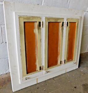 Image Is Loading 1910 039 S Wood Built In Medicine Cabinet
