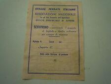 STRADE FERRATE ITALIANE - UFFICIO PROVINCIALE DI SAVONA -  C10-65