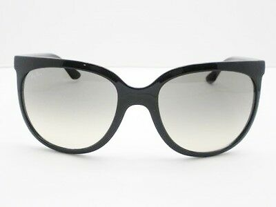 Ray Ban RB 4126 601/32 Black Cats 1000 Gradient Sunglasses Authentic New