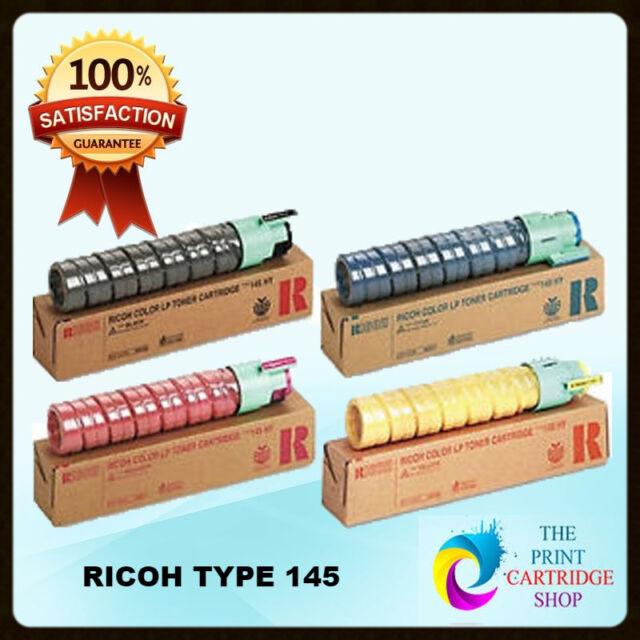 Original Ricoh 888336-88839 Toner Set CMYK Aficio CL4000DN SP C410DN  TYPE 145
