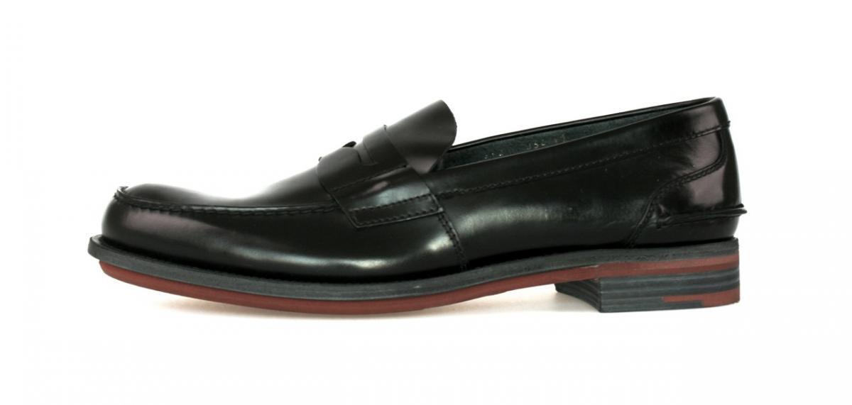 AUTHENTIC LUXURY PRADA BUSINESS scarpe 2DE034 nero NEW US 7 EU 40 40,5