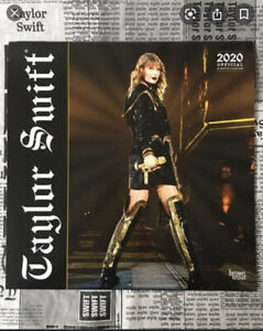 Taylor-Swift-2020-Calendar-16-Month-12x12-Square-Large-Wall-Calendar-New-Sealed