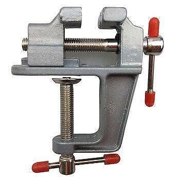 Pince Bench//Table Mini À faire soi-même Craft Workshop Model Maker Neuf Nouveau petit bébé Vice
