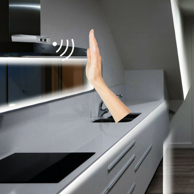 the best attitude 2d55c 7cb6f Sensor Hand Wave Sensor Switch for 5050 3528 LED Strip Light Cabinet 12V  24V DC