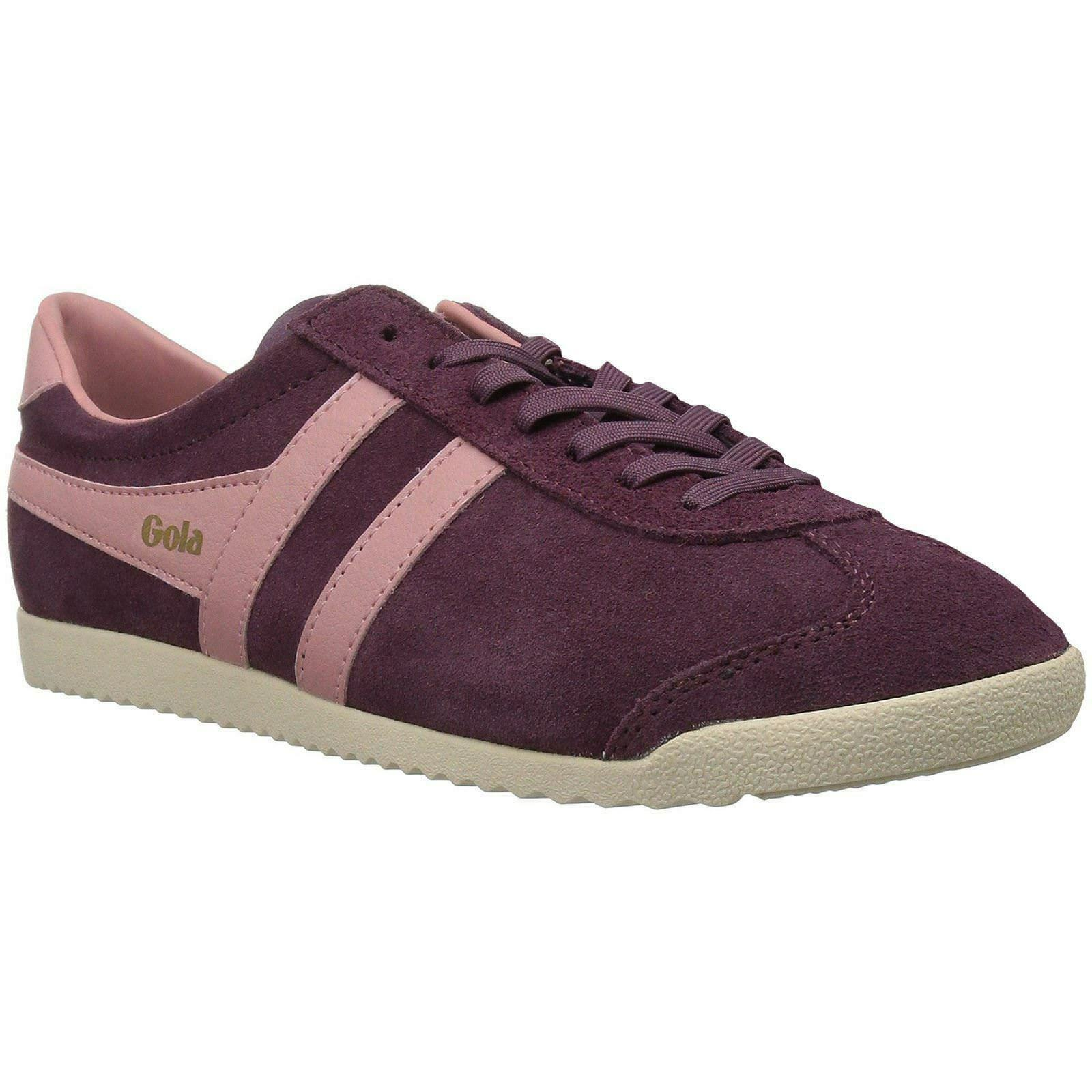 Gola Bullet Windsor Wine Coral Womens Suede Low-top Sneaker UK Size 3