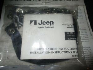Jeep Amc CJ 8 Scrambler Factory Tonneau Cover Hardware Only New Sealed