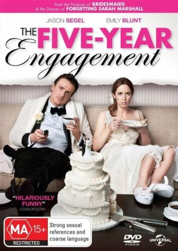 1 of 1 - The Five Year Engagement NEW R4 DVD