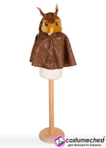 GUFO con cappuccio mantello da far finta di BEE