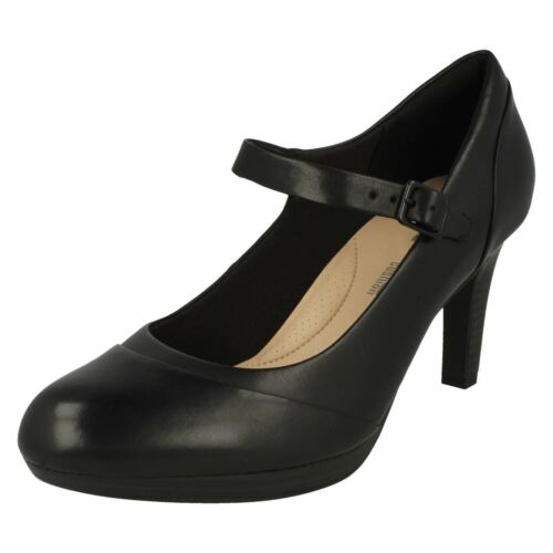 Zapatos Clarks Tipo Carla Negro Elegante Merceditas Ancho Mujer Adriel D wTnBqdxqX